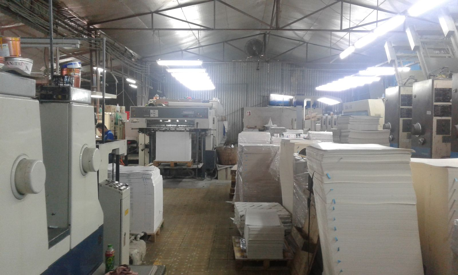 In OFFSET - FLEXO
